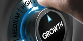 A button picture represente hight growth (medium picture)