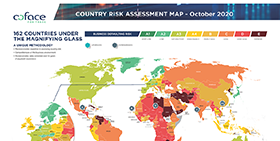 Country Risk Assessment Map - October 2020